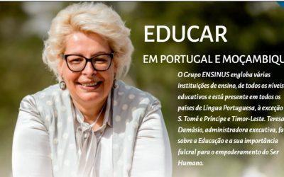 Educar em Portugal e Moçambique