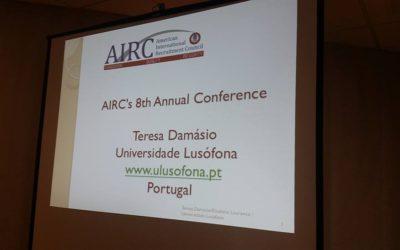 Intervenção na 8ª Conferência Anual da AIRC