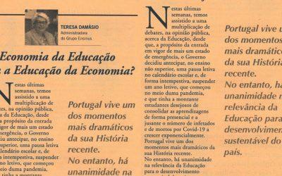 Vida Económica: A economia da educação ou a educação da economia?